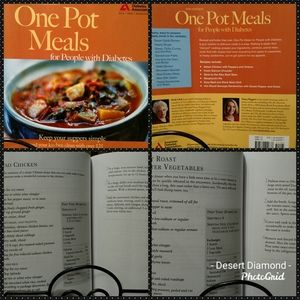 🍲One Pot Meals for People with Diabetes Cookbook